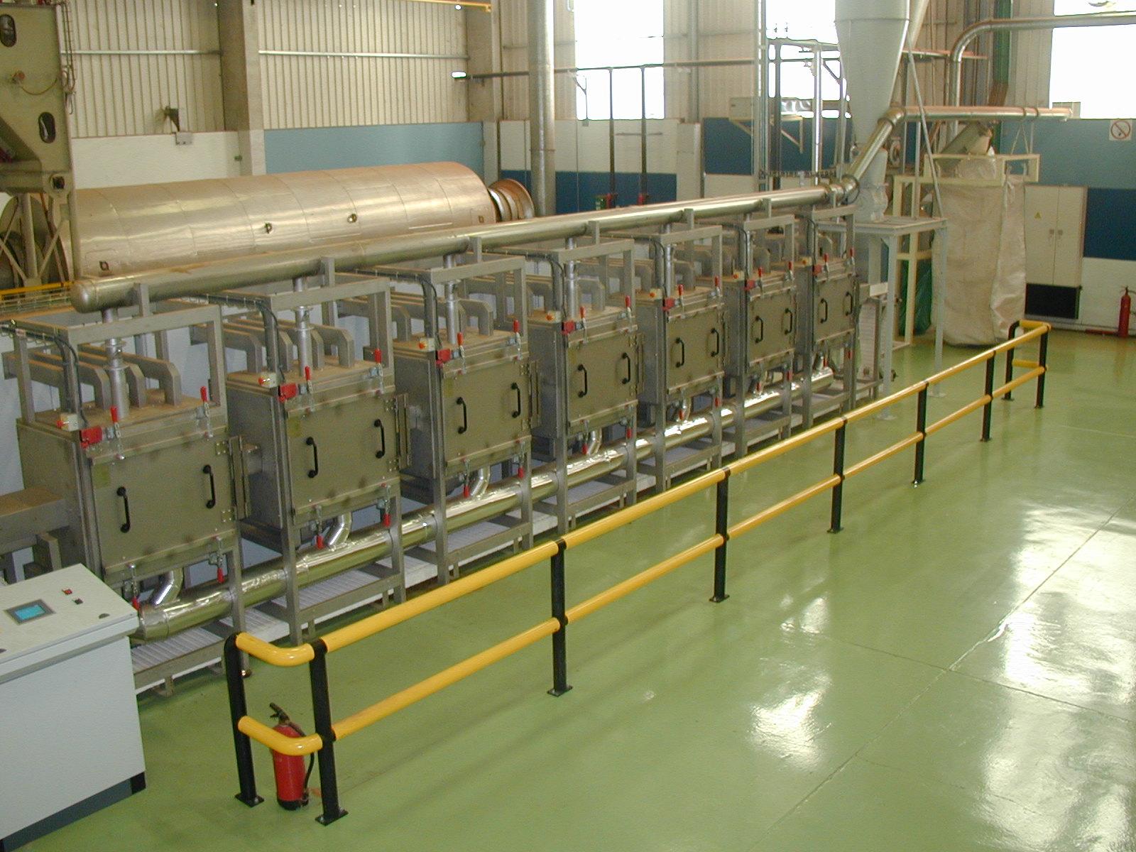 Túnel microondas de secado BEMENS SI-MAQ0103